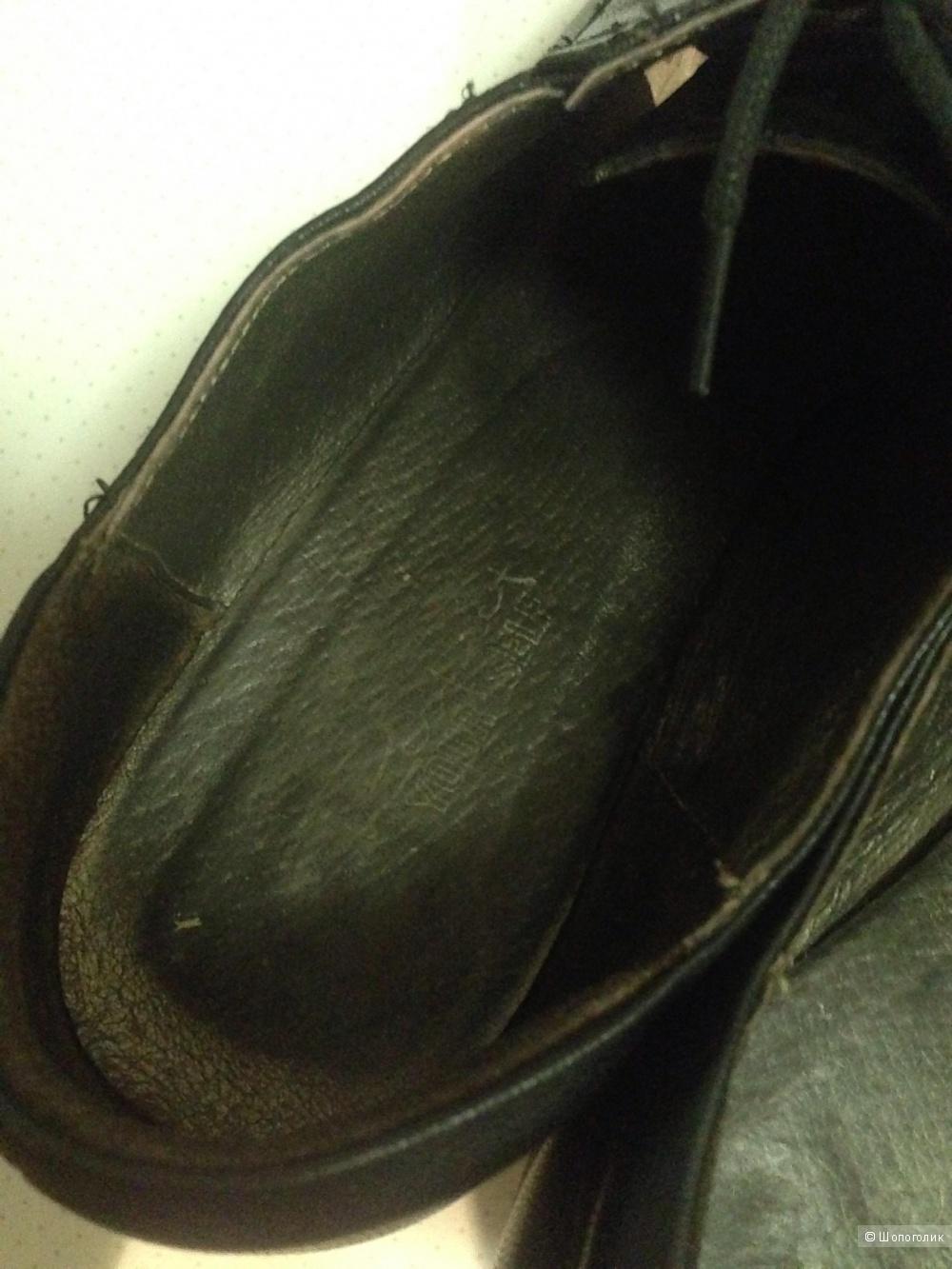 Кожаные ботиночки 38 размера Respect Yourself