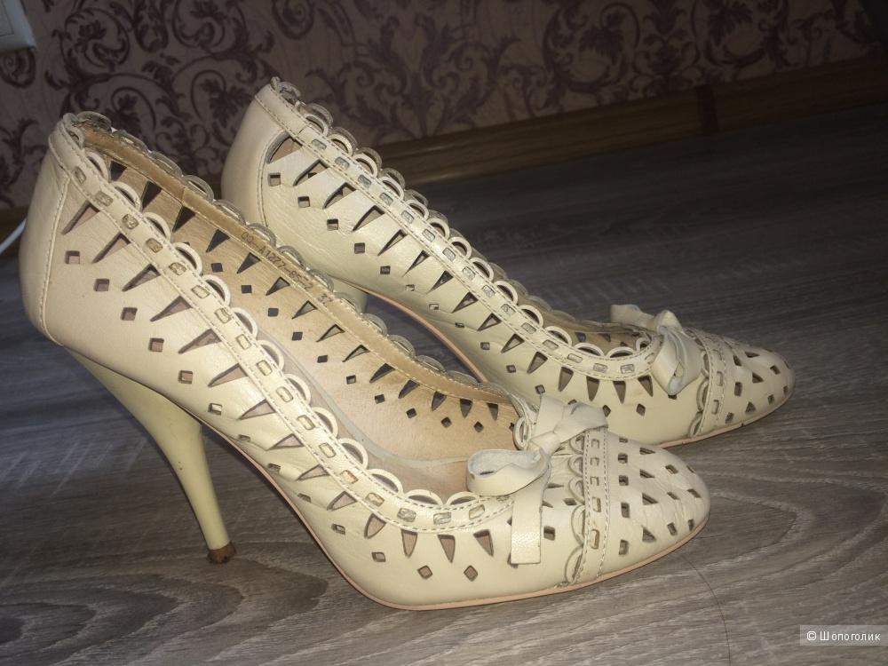 Кожаные туфли Paolo Conte, 37 размер