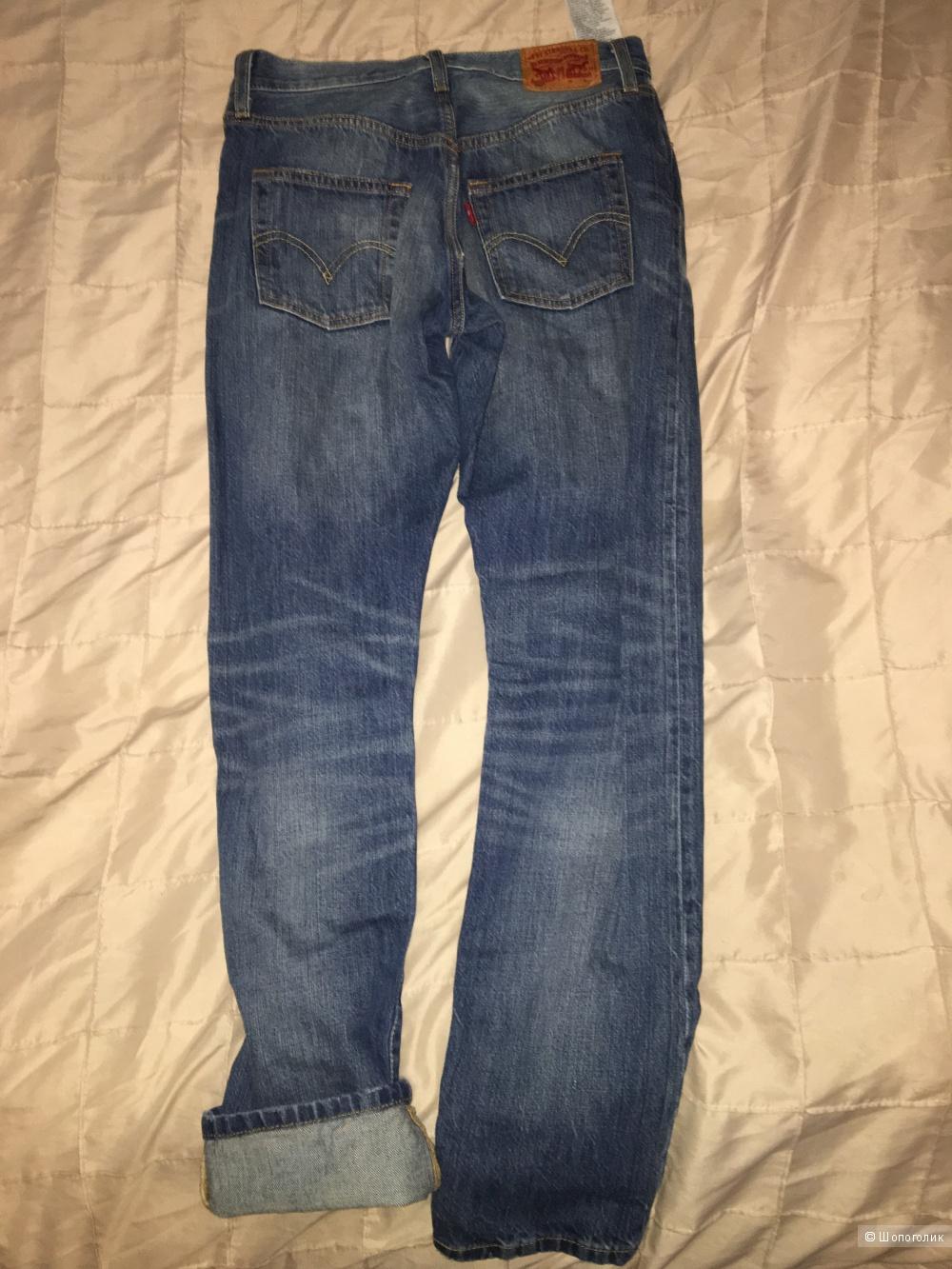 Продам женские джинсы levi's 25/32 размер (42-44)