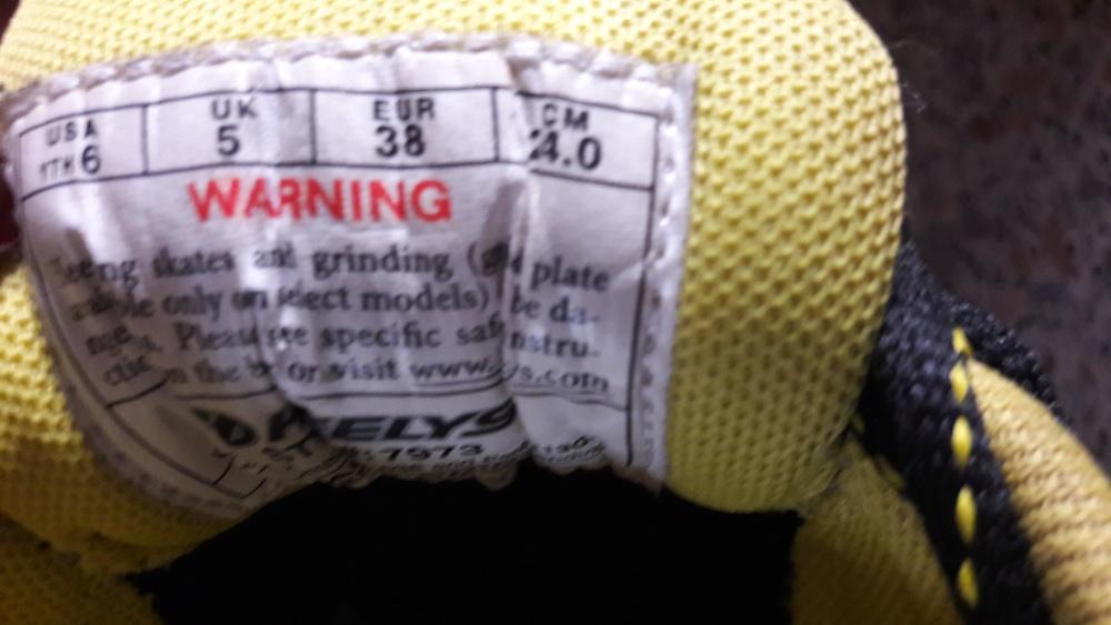 Кроссовки Heelys подростковые 37 - 37,5 российский размер