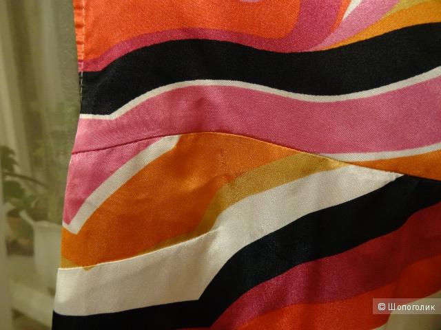Летнее платье George, с абстрактным рисунком, размер 40-42 (EUR 38), б/у