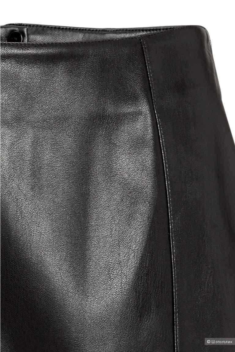 Юбка из эко кожи, новая, размер 38 (S)