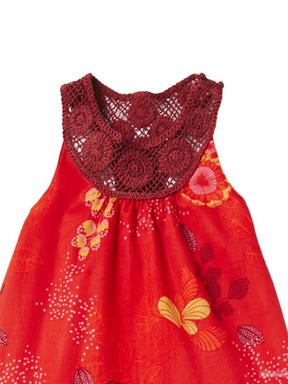 Платье-сарафан Verbaudet, маркировка 4 года