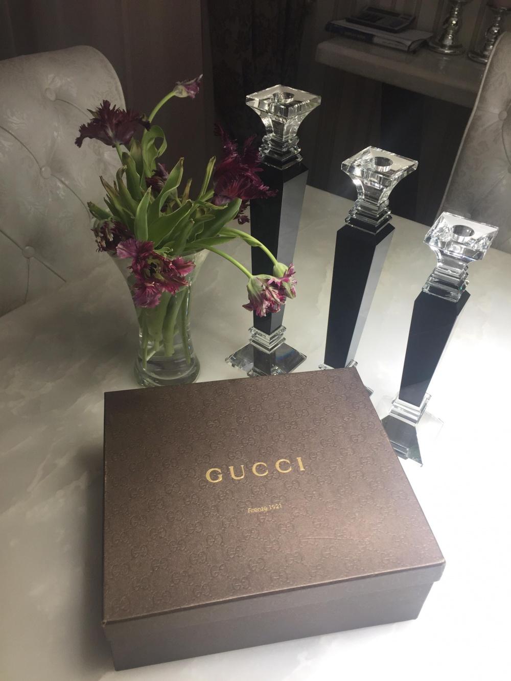Ботильоны Gucci Натуральная замша