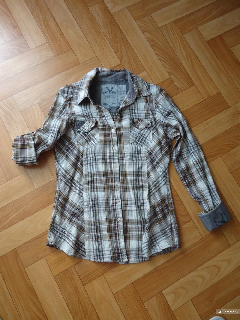 Рубашка BWNY Jeans, 44 размер
