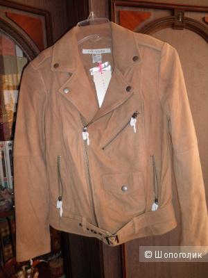 Куртка кожаная женская (новая), размер XS