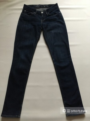 Классические джинсы Levi's skinny Bold Curve, размер 27 S, маленький М