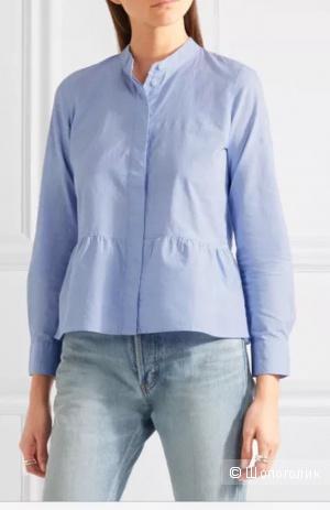 Хлопковая рубашка от madewell 40-42 р xs-s