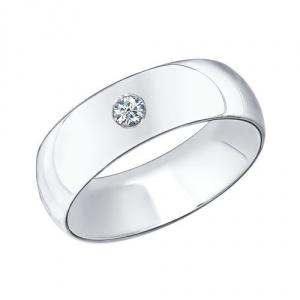 Кольцо новое  серебряное Соколов 16
