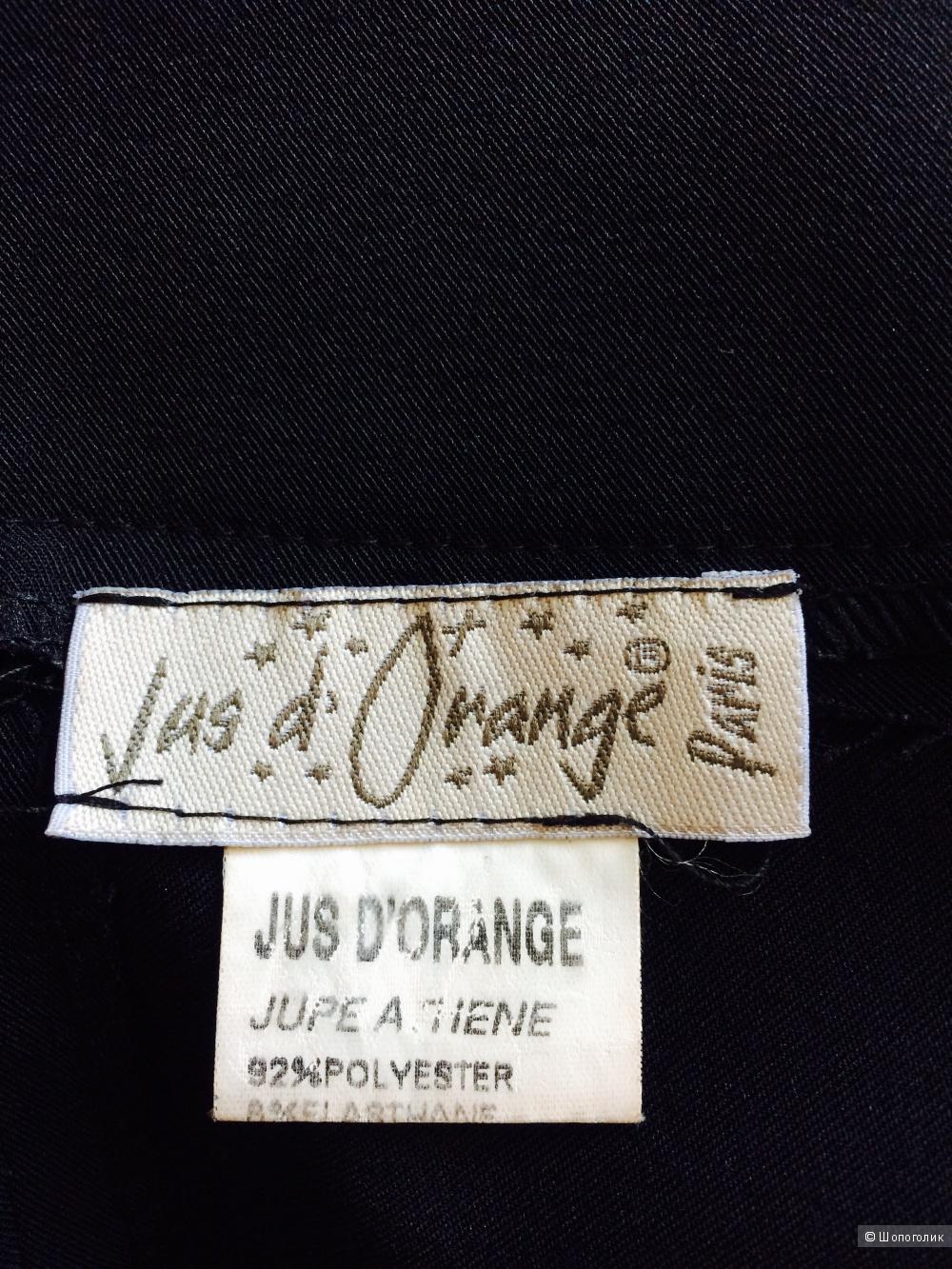 Чёрная французская юбка ,размер 42