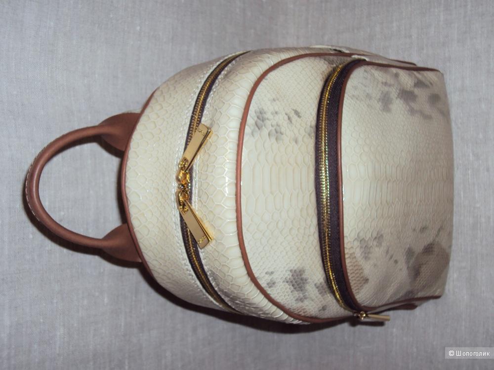 Новый бежевый рюкзак Gaude из натуральной кожи с ортопедической спинкой, Италия