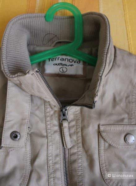 Куртка новая из кожзама Terranova на S