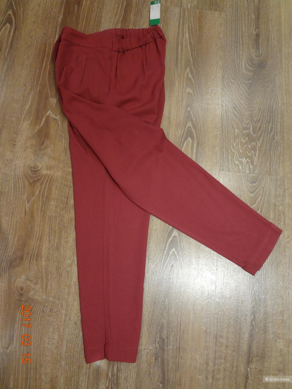 Итальянские брюки Benetton, новые, 44