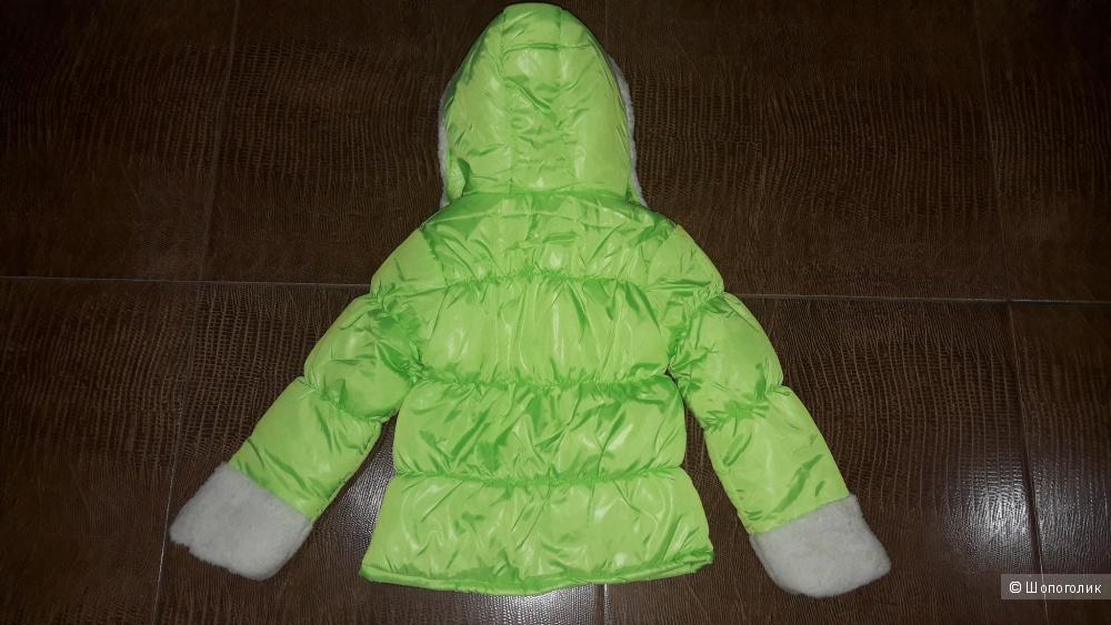 Куртка на девочку 122-128.