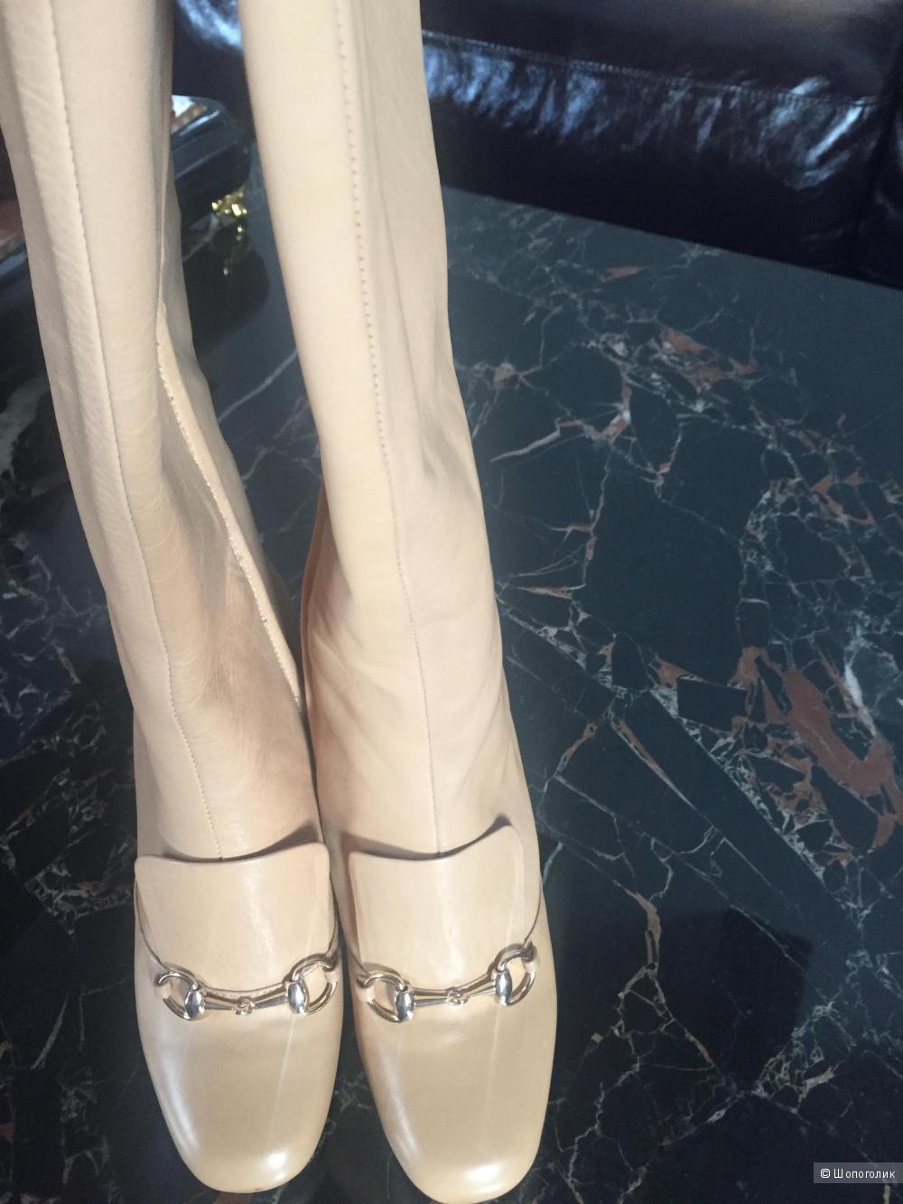 Сапоги Gucci из натуральной кожи