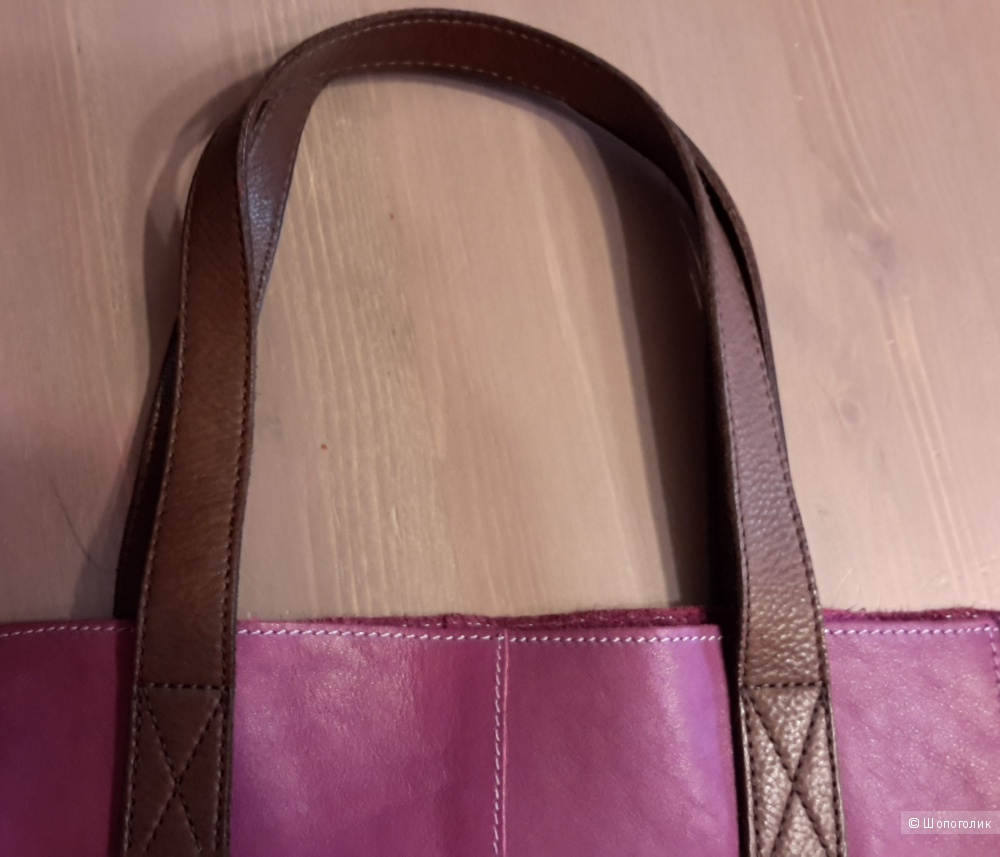 Кожаная сумка River Island 100% кожа
