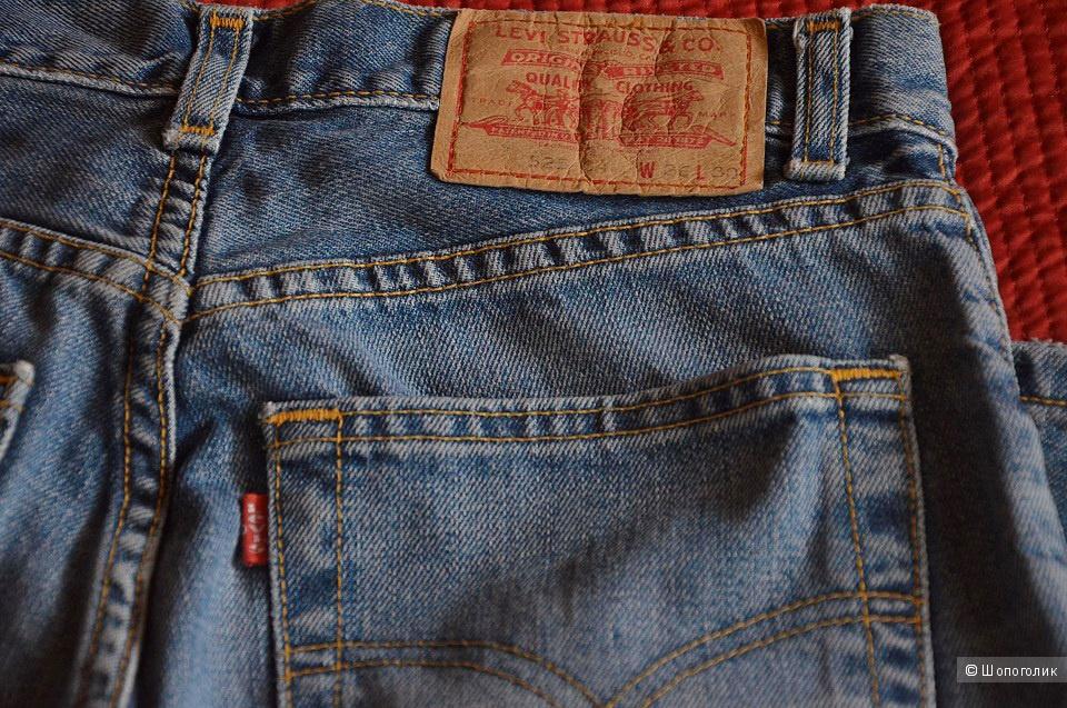Джинсы Levis 525 маркировка W26 L30
