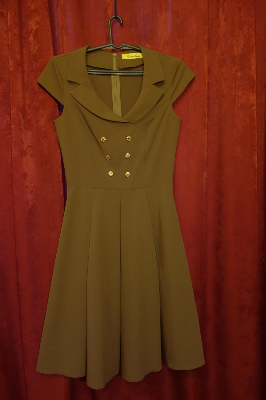 Платье Colambetta коричневое