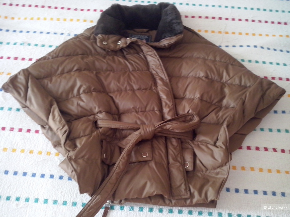 Куртка -летучая мышь, RIVER WOODS, р. S, цвет - шоколад