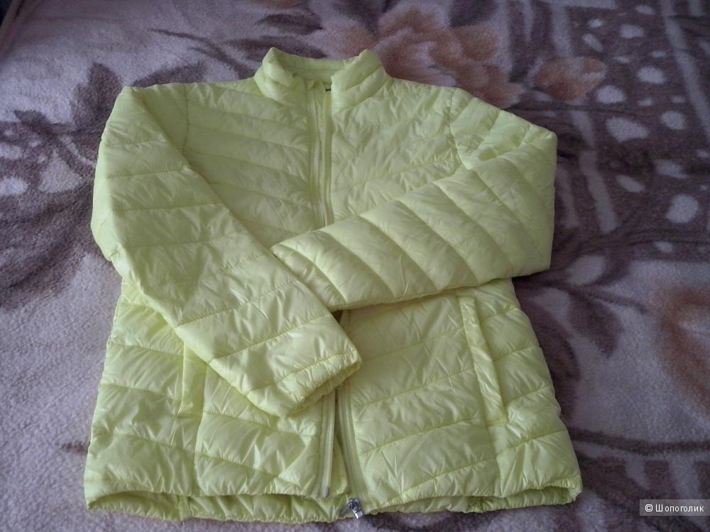 Новая куртка лимонного цвета BLUE MOTION, р. 44 - 46