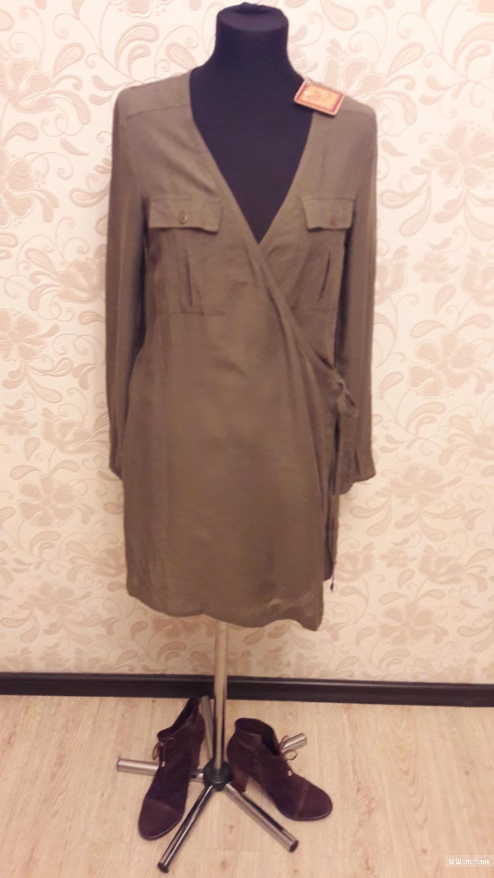 REPLAY: новое платье-туника-рубашка с запАхом
