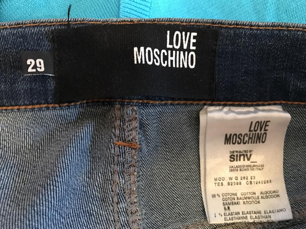 Джинсы Love Moschino