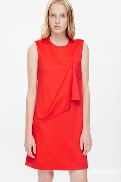 Коралловое платье COS / S-M
