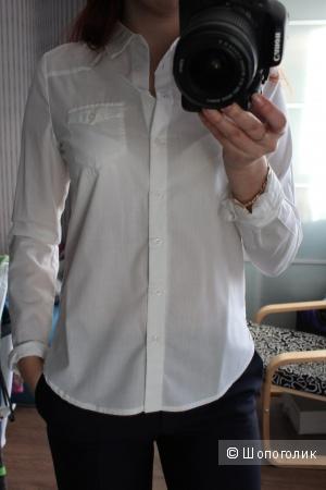 Новая белая рубашка xs-s