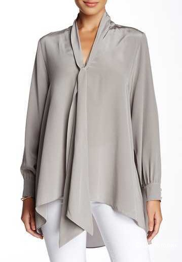Rachel Zoe Women's 'Joya' Tie Neck Silk Blouse