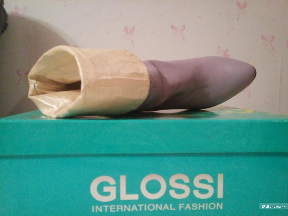 Женские сапоги Glossi 37 размера