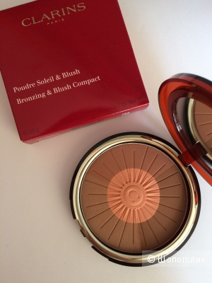 CLARINS Poudre sdeil  &  blush Bronzing & blush пудра compact 2016 Лимитка