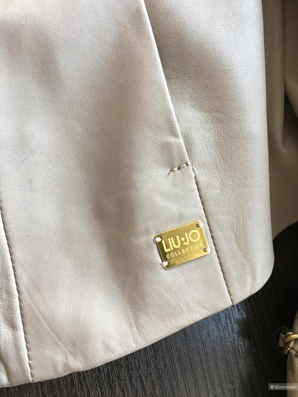 Кожаный пиджак Liu Jo c Yoox