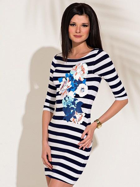 Платье Incity в морском стиле