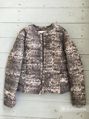 Куртка пуховик elisabetta franchi с yoox