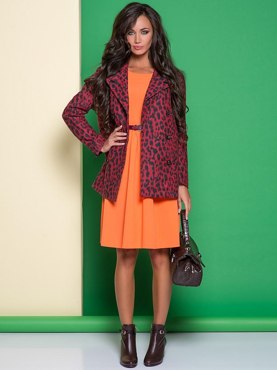 Платье Colambetta оранжевое