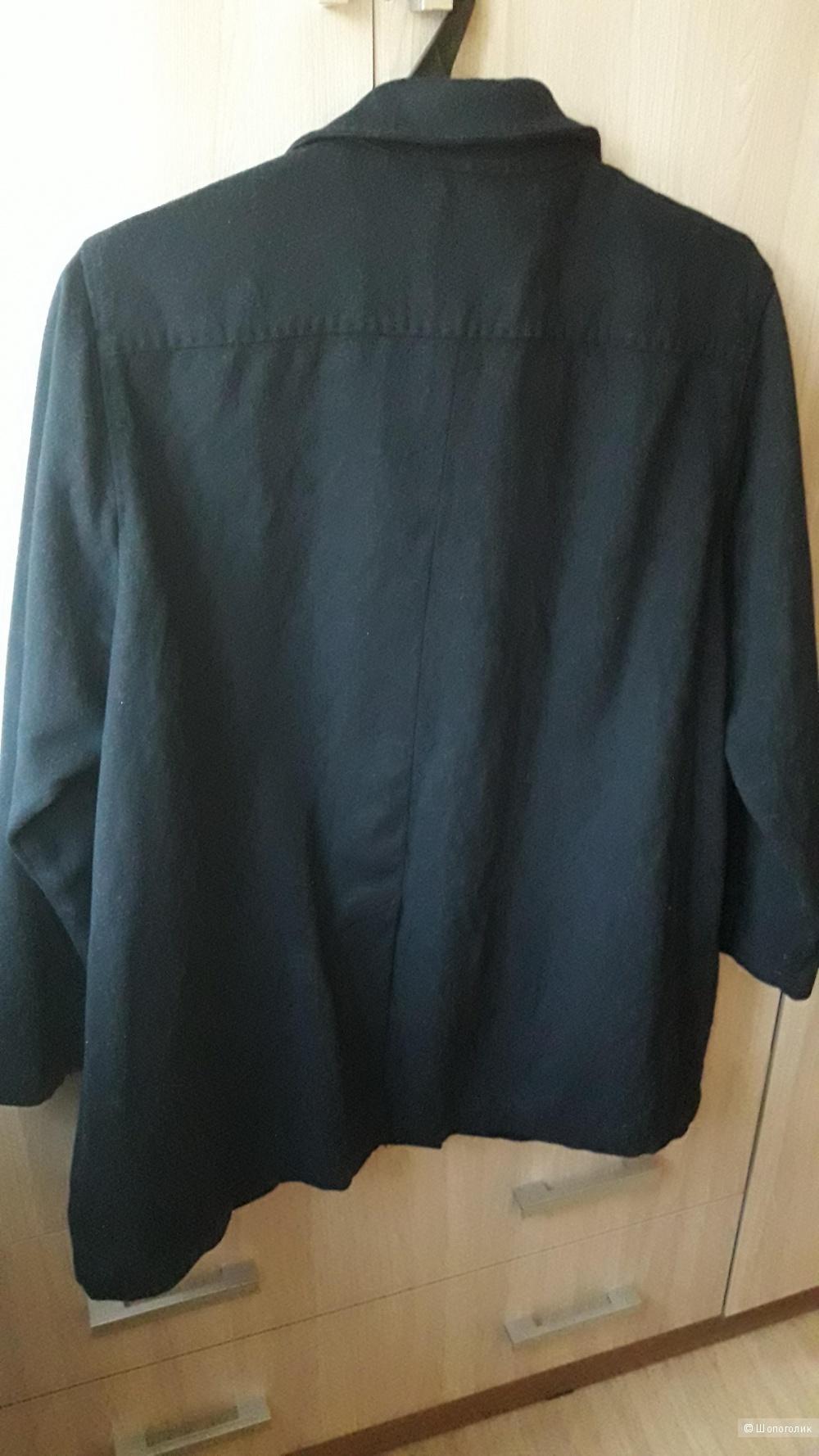 Кашемировая куртка Marina Rinaldi размер 50-52.