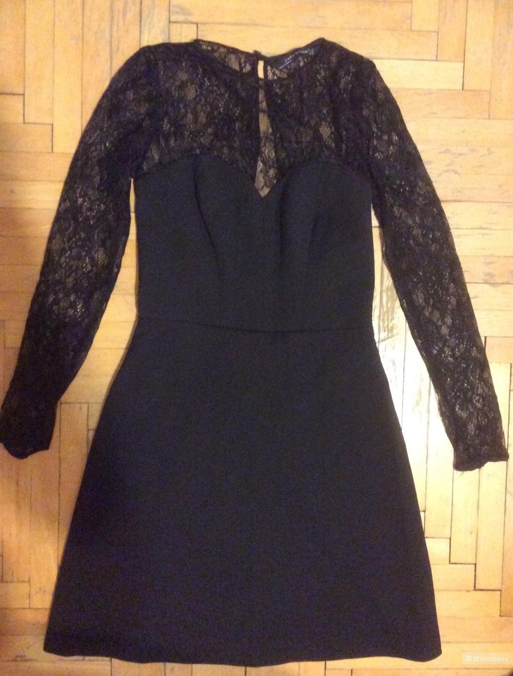 Роскошное платье Zara XS