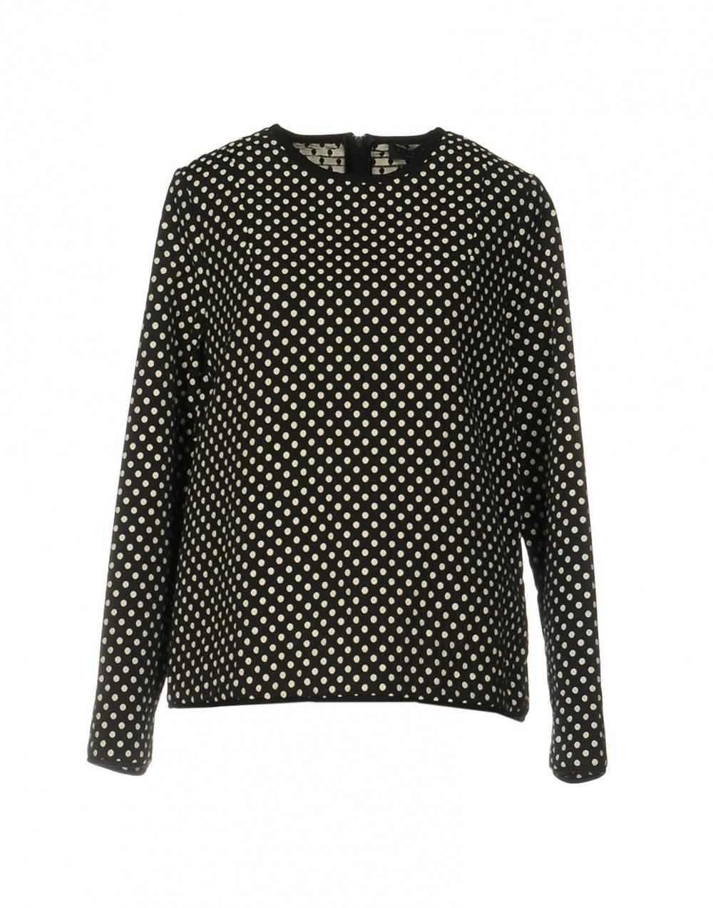 Блуза в горошек Twin-set Simona Barbieri XL