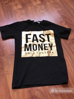 Новая очень крутая футболка Fast Money 8 лет Италия