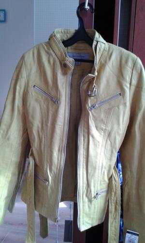 Новая кожаная  куртка Marc New York.