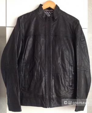 Мужская кожаная куртка Boss Orange