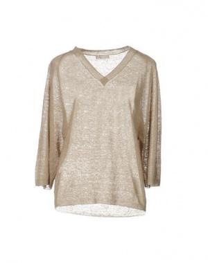 Легкий льняной свитер Stefanel, размер S