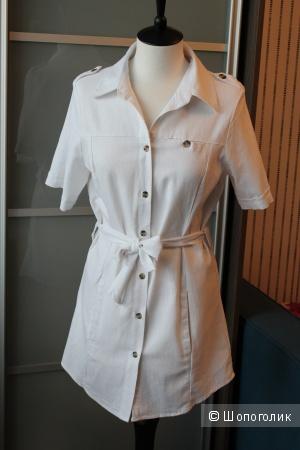 Платье-рубашка р-р 36-38
