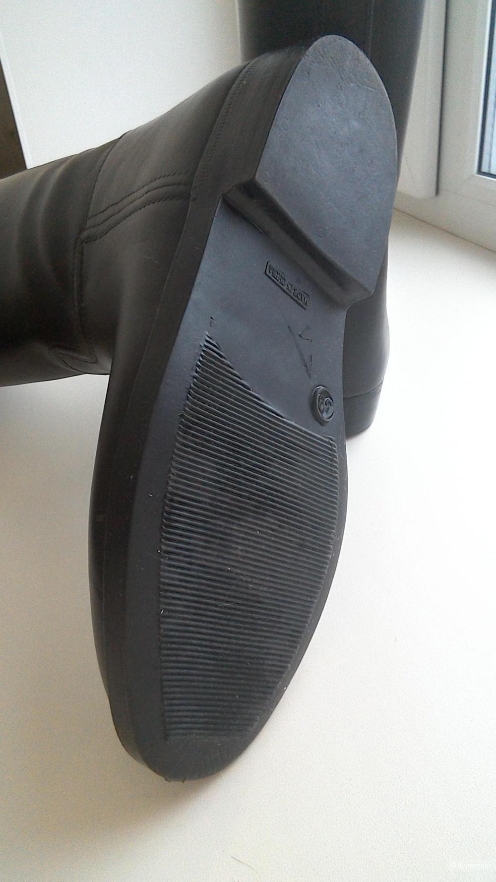 Резиновые сапоги жокейские, 39 размер (на 38-38,5) на утеплителе
