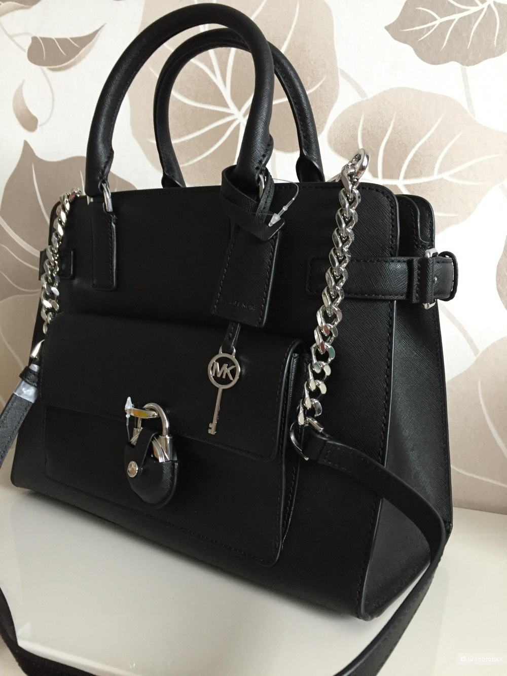 Новая сумка Michael Kors Emma Medium Saffiano leather