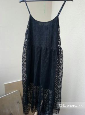 Гипюровое платье oversize (xl)