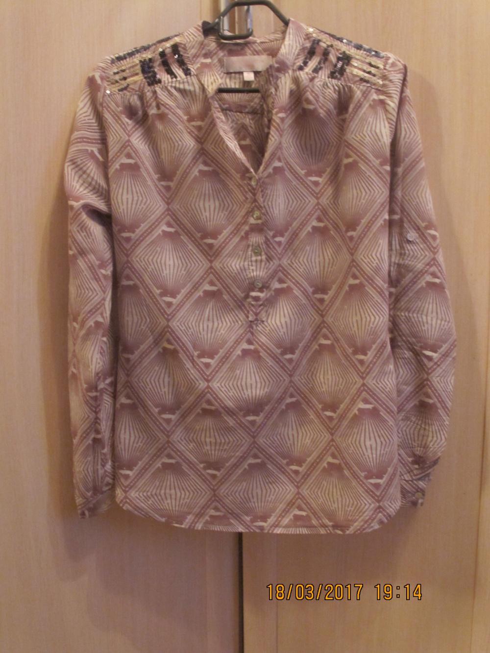 Рубашка gharani strok 42-44 размер