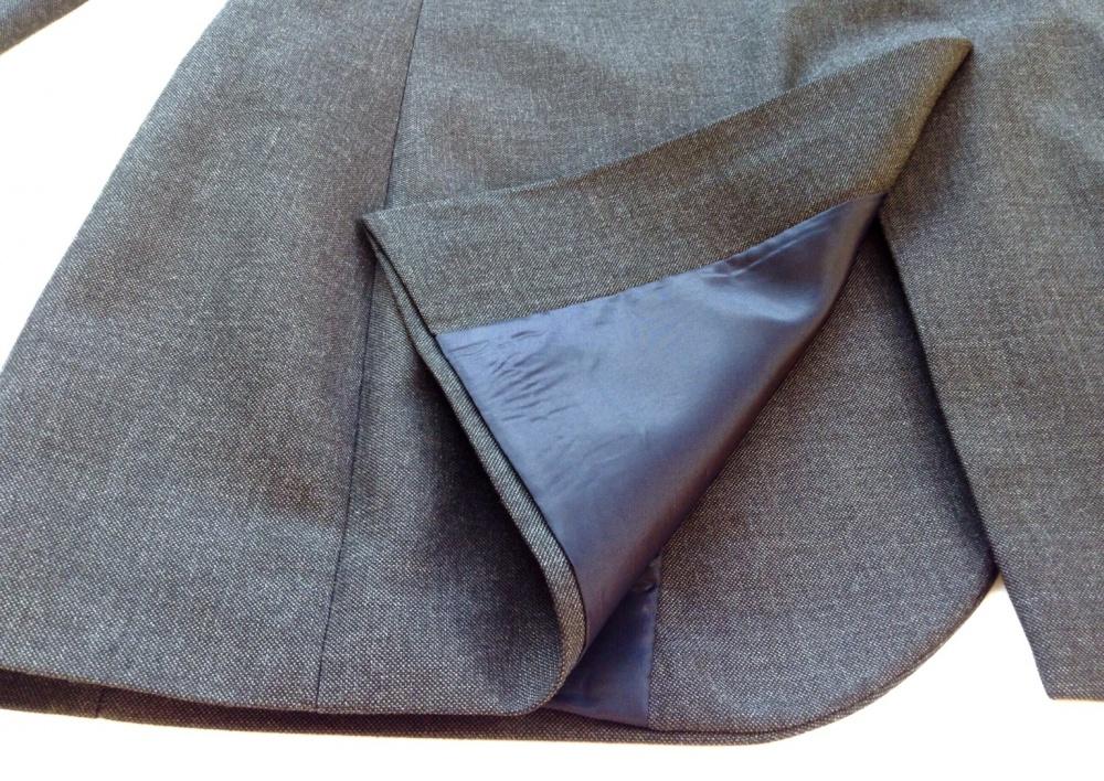 Классический мужской пиджак, серый, RIVER ISLAND, на 46 р, б/у 1раз