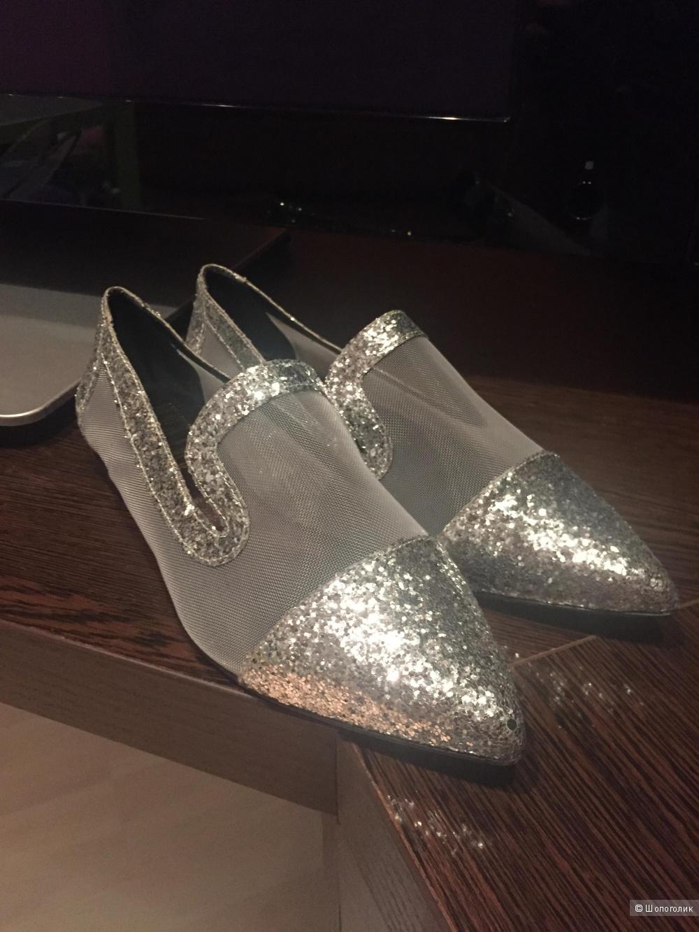 Never Еver туфли летние 37 маркировка (36-36,5)