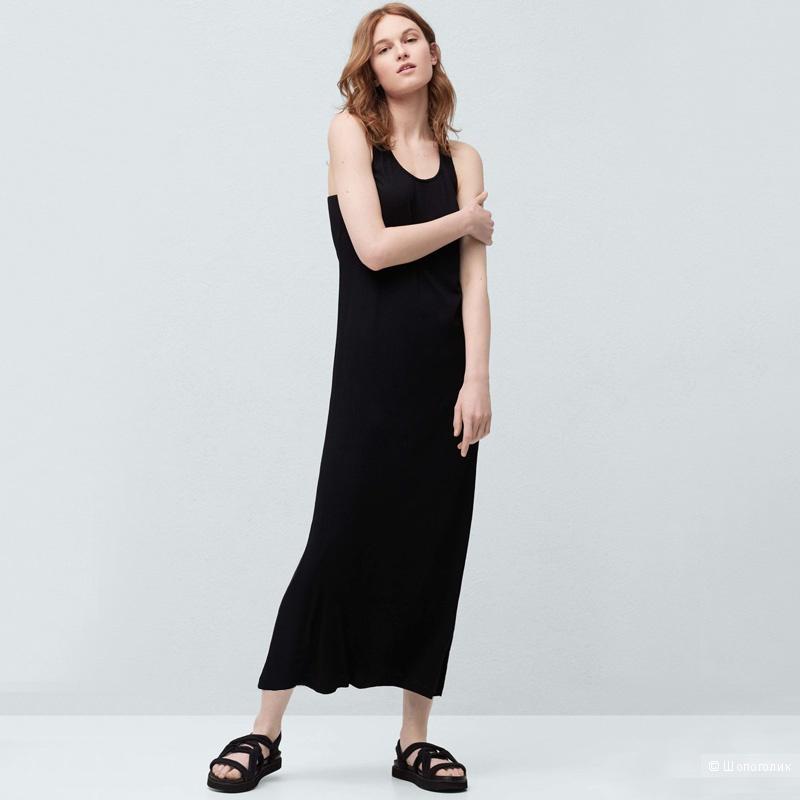 Базовое платье Tex размер L темно синее